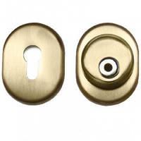 Защитная броненакладка врезная Corazza (золото) на цилиндр Titan