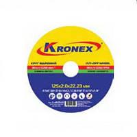 Круг отрезной по металлу Kronex  41 14A 180 1.6 22,2