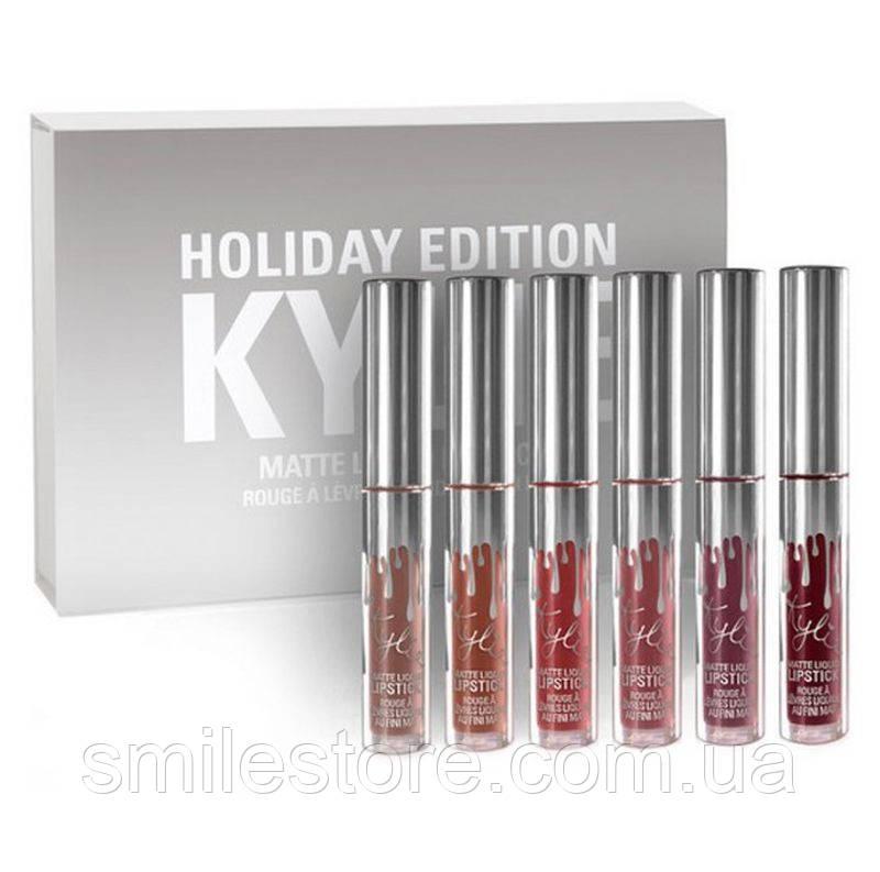 Набор помад Kylie Holiday Edition