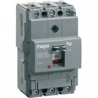Автоматический выключатель 125A 40KA 3 полюса HNA125H Hager