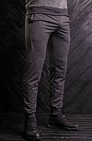 Мужские спортивные брюки графитового цвета