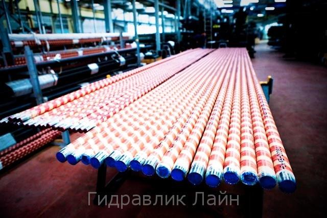 Штоки хромированные для изготовления и ремонта гидроцилиндров (цилиндров), в наличии