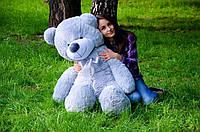 Мягкая игрушка Плюшевый Рафаэль Мишка серый 140 см