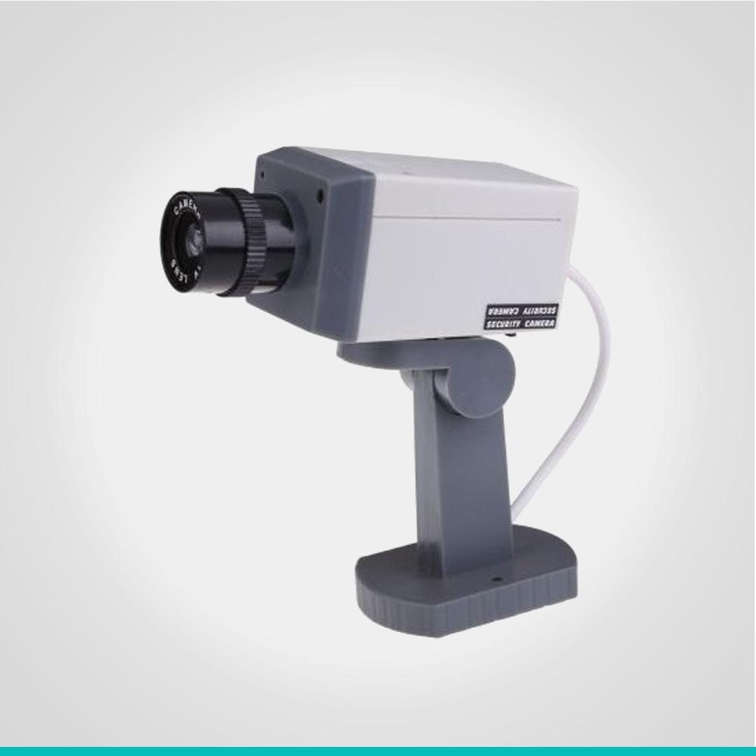 Камера видеонаблюдения муляж с мотором