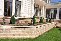 Облицовка фасадов мраморной колотой и полированной плиткой
