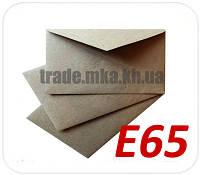 Конверт Е65 из целлюлозной бумаги