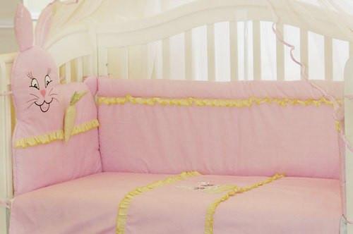 Бампер в кроватку для новорожденных