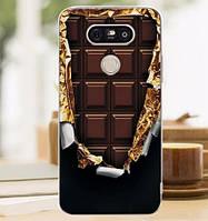 Силиконовый чехол бампер для LG G5 h845 с картинкой Шоколад