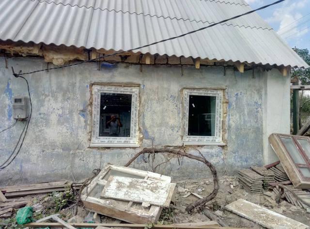 Реставрация старого дома с.Русская слобода 12