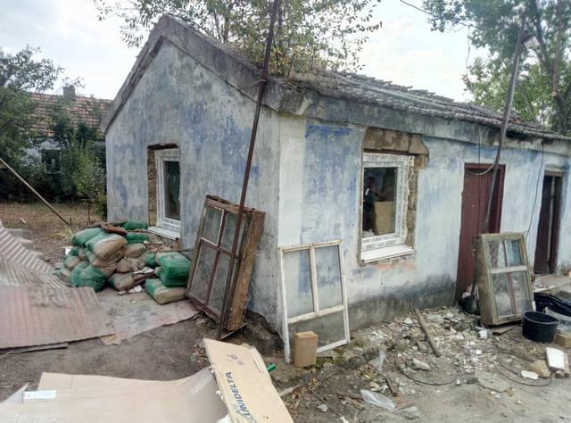 Реставрация старого дома с.Русская слобода 13