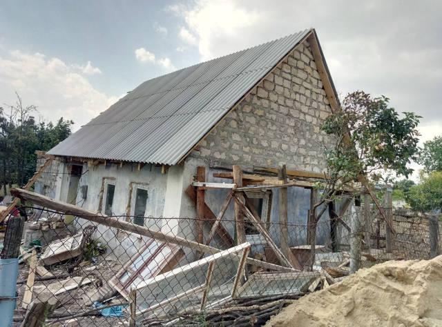Реставрация старого дома с.Русская слобода 14
