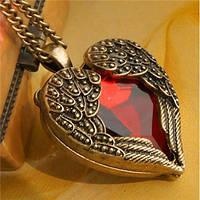 Кулон Сердце женский на цепочке