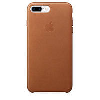 Чехол Apple iPhone 7 Plus Leather Case Saddle Brown (MMYF2ZM/A)