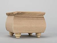 Деревянная шкатулка заготовка , фото 1