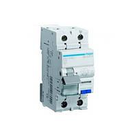 Дифференциальный автоматический выключатель 40A 1+N 4.5kA C 30mA AC 2м AD890J Hager