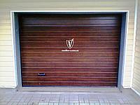 Ворота гаражные Alutech Classic 2000*2085 торсионные пружины