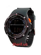 Годинник армійські Skmei 0989 military sport Black 0989BK