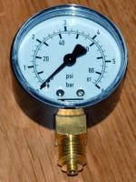 Манометр вертикальный (радиальный) T-meter 0-6 bar