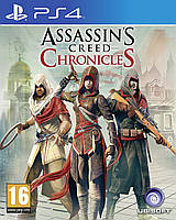 Игра Assassin's Creed Chronicles: Трилогия для Sony PS 4 (русские субтитры)