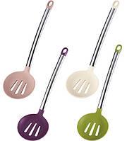 Шумовка Flex Kitchen 35см силиконовая с металлической ручкой