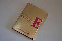 Пробник женской парфюмированной воды Escada Especially Escada Elixir 2ml