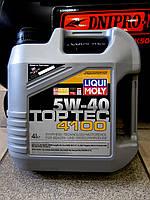 Моторное масло LIQUI MOLY Top Tec 5w40 4100 /4л