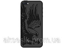 Задняя накладка Deppa для APPLE iPhone 5/5S цвет: чёрный Коршун