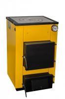 Буран мини 12 кВт с чугунной плитой (сталь 4 мм)