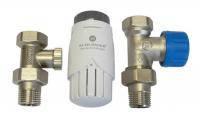 Комплект радиаторный прямой GZ 1/2 x GW 1/2 (602200002)
