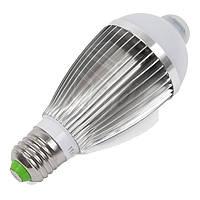 Светодиодная (LED) лампочка c ИК датчиком движения 7 Вт, холодный белый, Е27