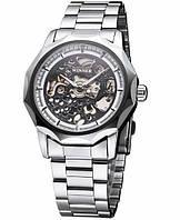 Мужские механические часы Winner Skeleton Luxury