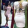 Женское летнее платье Переплет