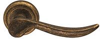 Дверная ручка на круглой розетке CLASSIC 571/12-AF античная отделка DND