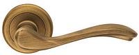 Дверная ручка на круглой розетке BEAUTY 777/12 - OGC бронза DND