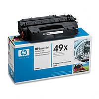 Заправка картриджа HP LJ 1160/ 1320/ 3390 / 3392MFP (Q5949X)