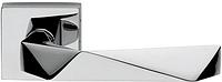 Дверная ручка на квадратной розетке LUXURY 02 LU14-OC хром DND