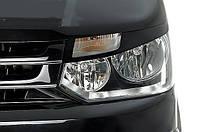 Ресницы передних фар Volkswagen Т5 (2010-2016)