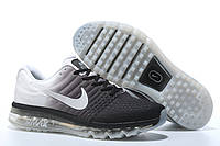 Кроссовки Nike Air max 2017 Черные-белые . кроссовки найк мужские