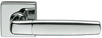Дверная ручка на квадратной розетке NOVA-B 02 681/14-CCS/M хром/матовый хром DND