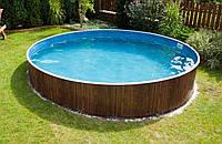 Каркасный бассейн круглый Azuro 400DL 3,6 м х 1,07 м с лестницей и фильтром