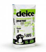 Средство для уборки льда Deice Mix Green, мешок 15 кг
