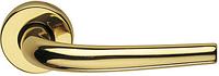 Дверная ручка на круглой розетке SABINA 288/12-OLV полированная латунь DND