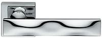 Дверная ручка на квадратной розетке SIKE 02 SK13-OC хром DND