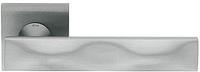 Дверная ручка на квадратной розетке SIKE 02 SK13-PCS матовый хром DND