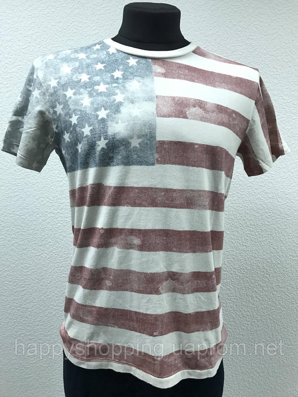 """Футболка с принтом """"USA"""" Denim&Supply Ральф Лорен"""