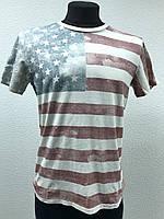 """Футболка с принтом """"USA"""" Denim&Supply Ральф Лорен, фото 1"""