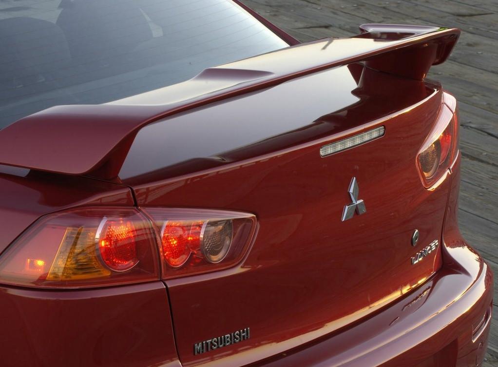 Спойлер крышки багажника Mitsubishi Lancer X (2007-), OEM type MZ574561EX, фото 1