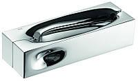 Дверная ручка на квадратной розетке INTAKE OC полированный хром DND