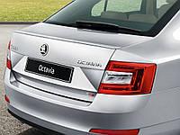 Спойлер крышки багажника V2 Skoda Octavia (A7) 2013-