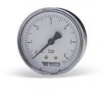 Манометр аксиальный Watts F+R100 (Ø63mm 0-6Bar)